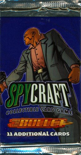 Spycraft Day of the Bullet, Booster Pack