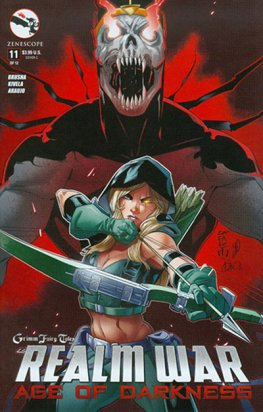 Grimm Fairy Tales Presents: Realm War Age of Darkness #11 (Cafa)