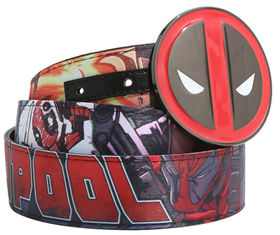 Deadpool Reversible Belt & Buckle