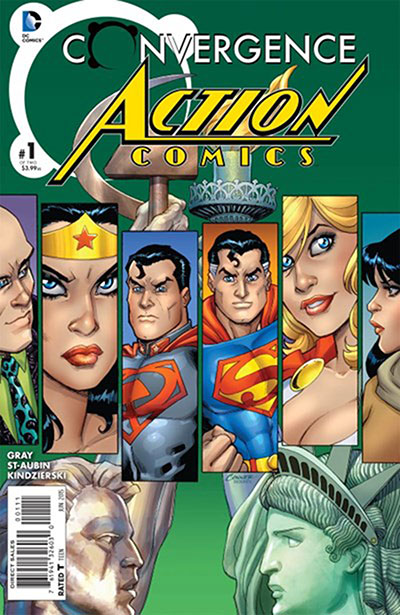 Convergence: Action Comic (2015)