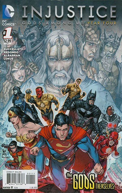 Injustice Gods Among Us: (2015)