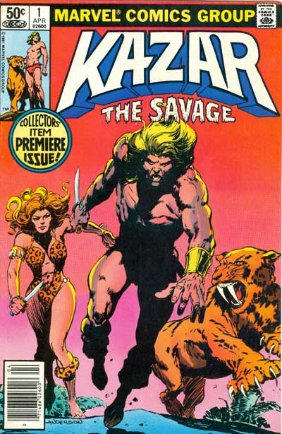 Ka-Zar: The Savage (1981-84)