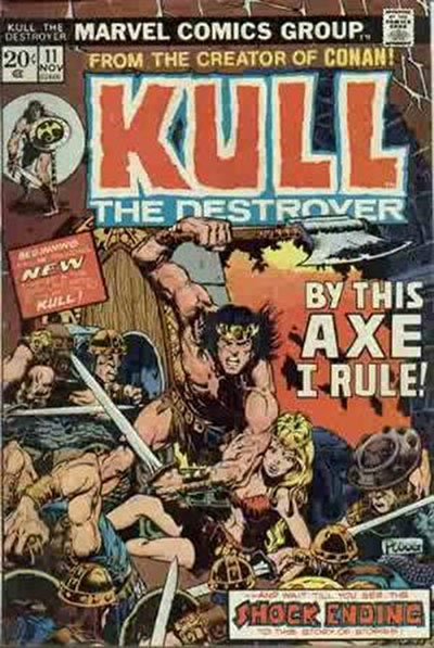Kull the Destroyer (1974-78)