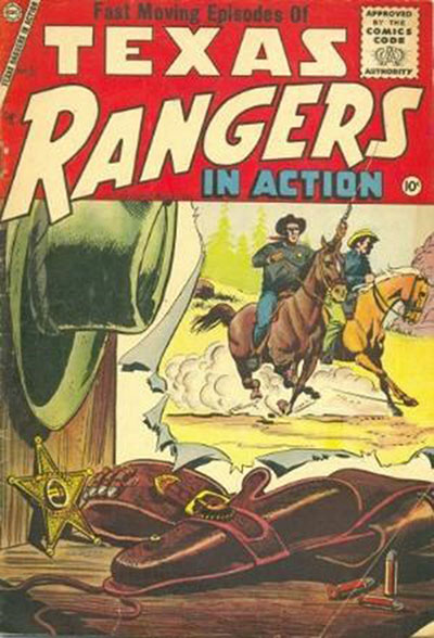 Texas Rangers In Actio (1956-77)